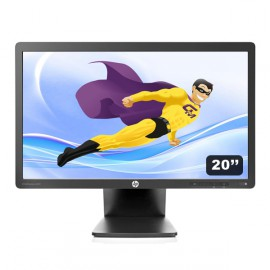 "Ecran PC 20"" HP EliteDisplay E201 LED 1600x900 VGA DVI Display VESA USB Wide"