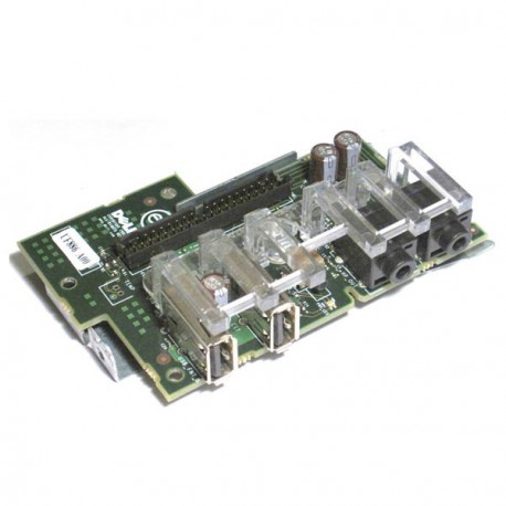 Carte Connectiques Facade Front Panel USB Audio LED 0P8476 R6187 DELL Optiplex Gx520/620DT