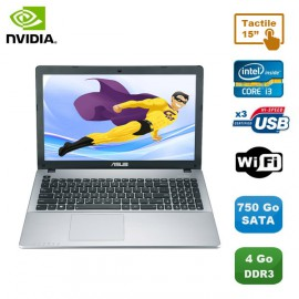 """PC Portable 15.6"""" ASUS R510C-CJ1316H Core i3-3217U 1.8Ghz 4Go 750Go Wifi Tactile"""