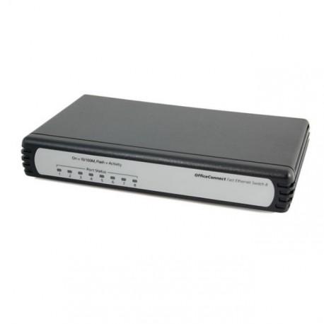 Switch 3Com 8 Ports Megabit 3C16791C OfficeConnect Commutateur 10/100 Mbps