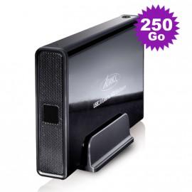 """Disque Dur Externe 250Go SATA Boîtier 3.5"""" USB2 Advance BX-306BK Sans Vis Noir"""