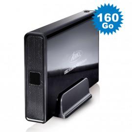 """Disque Dur Externe 160Go SATA Boîtier 3.5"""" USB2 Advance BX-306BK Sans Vis Noir"""