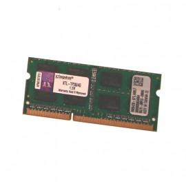 4Go RAM PC Portable SODIMM DDR3 PC3-10600S Kingston KTL-TP3B-4G CL11