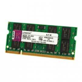 2Go RAM PC Portable SODIMM KINGSTON KVR667D2S5-2G DDR2 PC2-5300S 667MHz CL5