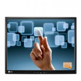 """Ecran Plat TACTILE 17"""" LG T1710BP-BN VESA TPV POS Caisse Comptoir Monitor USB"""