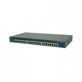 Switch Rack 24 Ports 10/100 2x 1000 Gigabit Cisco Catalyst WS-C2950T-24 Series