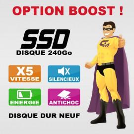 OPTION : Disque Dur SSD 240Go Neuf