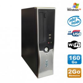 PC Nec VL280 DT Dual Core E2160 DVD Ram 2Go Disque Dur 160Go WIFI Windows XP