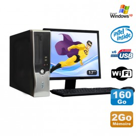 Lot PC Nec VL280 DT Dual Core E2160 DVD Ram 2Go Disque 160Go WIFI XP + Ecran 17""