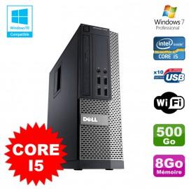 PC Dell Optiplex 7010 SFF Core I5 2400 3.2GHz 8Go Disque 500Go Wifi W7