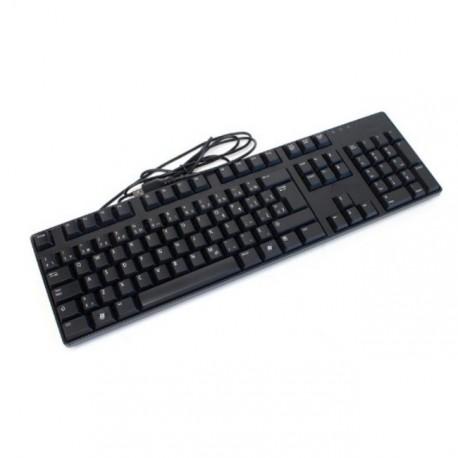 Mini Clavier DELL Azerty L30U 0N249F USB Slim Fin Noir Keyboard Optiplex Pc Pro