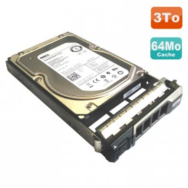 "Disque Dur 3To SAS 3.5"" Seagate Constellation ES.2 ST33000650SS + Rack 0F238F"
