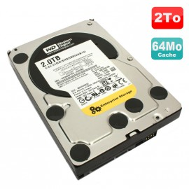 "Disque Dur 2To SATA II 3.5"" Western Digital RE4 WD2003FYYS 7200RPM 64Mo"