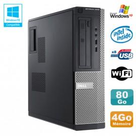 PC DELL Optiplex 3010 DT Intel G640 2.8Ghz 4Go 80Go DVD WIFI HDMI Win XP