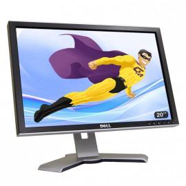 "Ecran Plat PC 20"" LCD DELL 2009WT OKM515 1680x1050 Réglable DVI VGA HUB USB VESA"