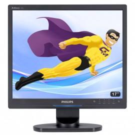 "Ecran Plat PC 17"" LCD Philips Brilliance 170S9 1280x1024 Réglable DVI VGA VESA"
