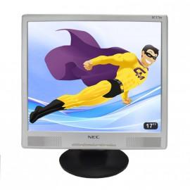 "Ecran Plat PC 17"" LCD NEC 700P LC17M 1280x1024 43cm Réglable VGA"