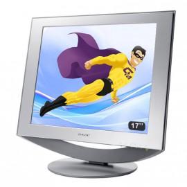"""Ecran Plat PC 17"""" Sony SDM-HS74P LCD TFT 1280x1024 Réglable VGA DVI"""