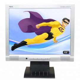 "Ecran Pc 15"" NEC AccuSync LCD52VM-BK VGA 1024x768 Haut-parleur Mat Inclinable"