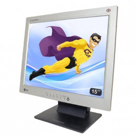 "Ecran PC 15"" LG Flatron L1510S LCD TFT VGA 1024x768 (XGA) Mat Inclinable TPV POS"