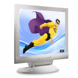 "Ecran PC 15"" ViewSonic VE155 VGA LCD TFT 1024x768 75Hz (XGA) Mat Inclinable"