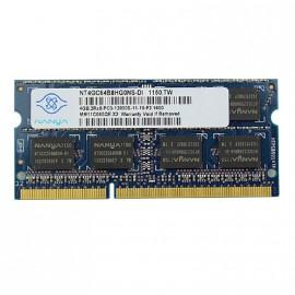 4Go RAM PC Portable SODIMM Nanya NT4GC64B8HG0NS-DI DDR3 PC3-12800S 2Rx8 1600MHz