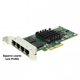 Carte Réseau 4x Ports Ethernet Gigabit Intel E1G44HTBLK I340-T4 PCIe Low Profile