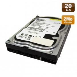 "Disque Dur 20Go IDE ATA 3.5"" Western Digital Caviar WD204BB-71DGA0 7200RPM 2Mo"