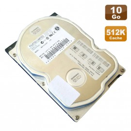 "Disque Dur 10Go IDE ATA 3.5"" Fujitsu Limited MPF3102AT EB 5400RPM 512Ko"