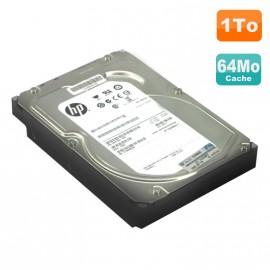 """Disque Dur 1To SATA 3.5"""" PC Hewlett Packard MB1000EBZQB 7200RPM 64Mo"""