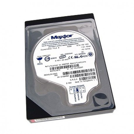 "Disque Dur 40Go 3.5"" ATA 133 IDE Maxtor DiamondMax Plus 8 6E040L0 7200 RPM 2Mo"