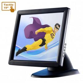 """Ecran Tactile 19"""" Glancetron GT-19 PLUS TPV POS Caisse Comptoir Touchscreen USB"""