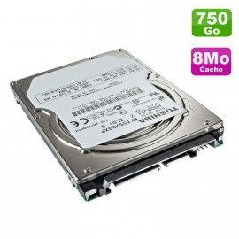 """Disque Dur 750Go SATA 2.5"""" Toshiba MK7559GSXP Pc Portable 5400RPM 8Mo"""