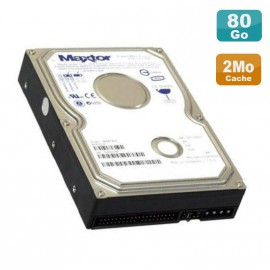 "Disque Dur 80Go 3.5"" IDE Maxtor DiamondMax Plus 9 6Y080P0 7200 RPM 2Mo ATA 133"