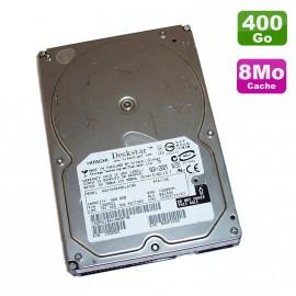 """Disque Dur 400Go IDE ATA 3.5"""" Hitachi Deskstar 7K400 HDS724040KLAT80 7200RPM 8Mo"""