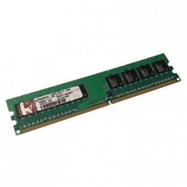 512Mo RAM KINGSTON KWM551-ELG 240-Pin DIMM DDR2 PC2-5300U 677Mhz 1Rx8 CL5