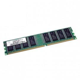 512Mo RAM NANYA NT512D64S8HAAG-7K 184-Pin DIMM DDR PC-2100U 266Mhz 2Rx8 CL2.5