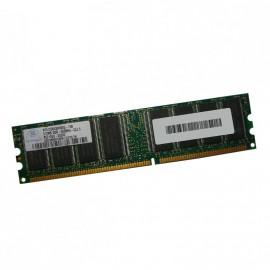 512Mo RAM NANYA NT512D64S8HB0G-75B 184-Pin DIMM DDR PC-2100U 266Mhz 2Rx8 CL2.5