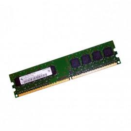 512Mo RAM QIMONDA HYS64T64000EU-3S-B2 240-Pin DIMM DDR2 PC2-5300U 667Mhz 1Rx8 CL5