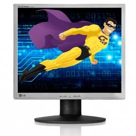 "Ecran Plat PC 19"" LG L1942PE-BS LCD 1280x1024 5:4 VGA VESA DVI-D"