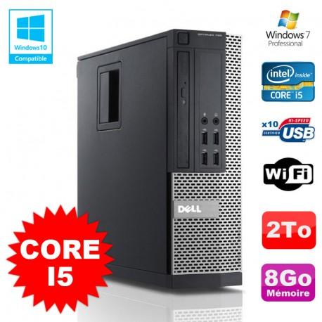 PC DELL Optiplex 790 SFF Intel Core I5 3,1Ghz 8Go Disque 2To WIFI W7 Pro