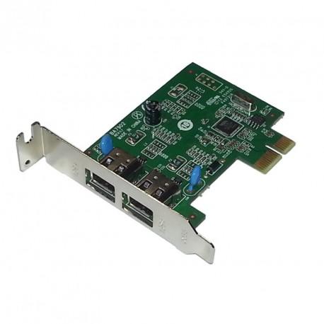 Carte PCI-Express Lenovo BA7902 2x Port Firewire IEEE1394 400Mb/s Low Profile