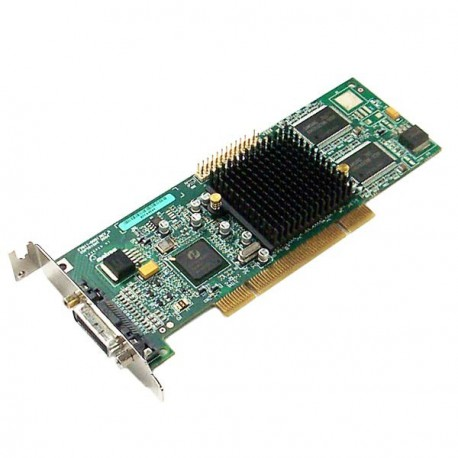 Carte Graphique Low Profile MATROX G550 32Mo DDR PCI DMS-59 G55MDDAP32DBF