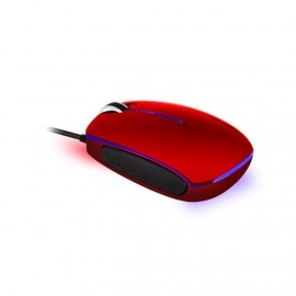 Mini Souris Optique USB Rouge ADVANCE Pc Portable Bureau Led Bleue 1000dpi NEUF