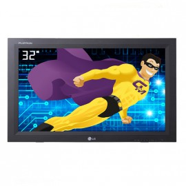 "Ecran Moniteur affichage 32"" LG M3203CG LCD 1360x768 9ms HDMI VGA sans pied"