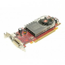 Carte Graphique Vidéo AMD Radeon HD3450 256Mo DDR2 PCIe DMS59 SVideo Low Profile