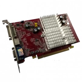 Carte Graphique ATI Radeon X550 Advantage 256Mo DDR SDRAM PCI-E DVI VGA S-Video