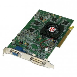 Carte Graphique ATi FireGL T2-128 RV350 128Mo DDR SDRAM AGP DVI VGA