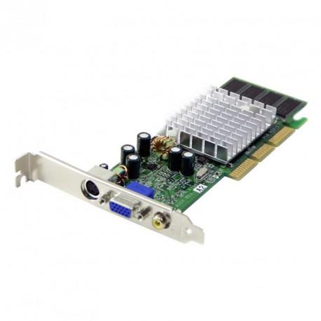 Carte Graphique Leadtek A180 BT NVIDIA GF MX4000 64MB DDR AGP VGA D-SUB S-Video