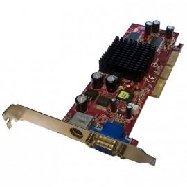 Carte Graphique MSI NVIDIA GeForce4 MX4000 8TX 64MB SDRAM DDR AGP VGA S-Video